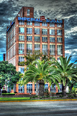 Imperial Sugar Factory Daytime Hdr Poster