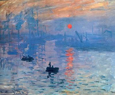 Impression Sunrise Soleil Levant Poster by L Brown