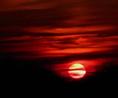 Impression Sunset Poster