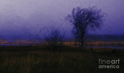 Poster featuring the photograph Impressionist Landscape by Julie Lueders