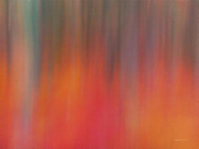 Impressionistic Forest Light Poster