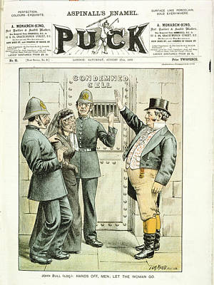 Imprisoned Woman Poster by British Library