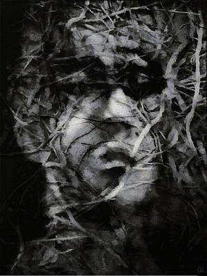 In A Brushwood Of Thoughts Poster by Gun Legler