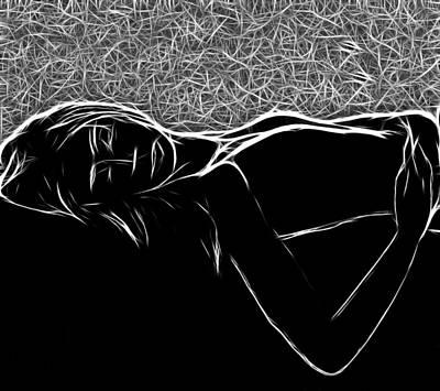 In Her Dreams Poster by Steve K