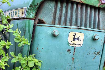 In John Deere Greene Poster by JC Findley