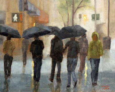 In Spite Of Rain Poster