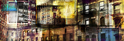 In The City Poster by Jeff Klingler