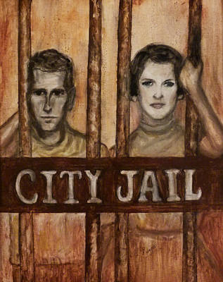 In The Jailhouse Now Poster by Regina Brandt