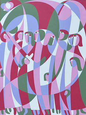 In The Life, 1999 Acrylic On Board Poster