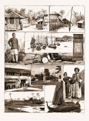 In The Maldive Islands, Indian Ocean, 1881 1. A Street Poster