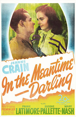 In The Meantime, Darling, Us Poster Poster by Everett