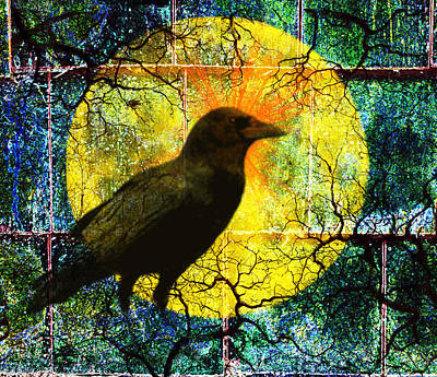 In The Night Poster by Nancy Merkle