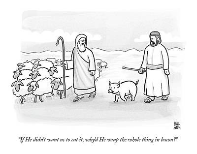 In What Appears To Be Biblical Times Poster by Paul Noth