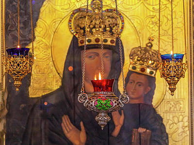 Incense Burners Saint Nicholas Church Poster