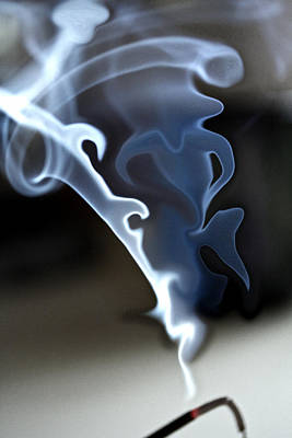 Incense Smoke Dance - Smoke - Dance Poster