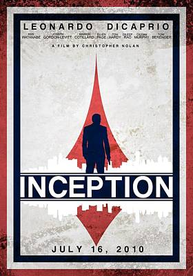 Inception Poster by Anton Lundin