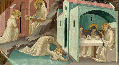 Incidents In The Life Of Saint Benedict Poster by Lorenzo Monaco