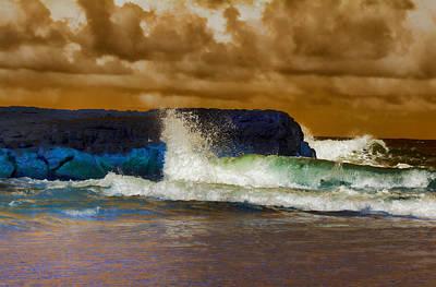 Incoming Tide Poster by Douglas Barnard