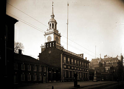 Independence Hall, Philadelphia, Independence Hall Poster by Litz Collection