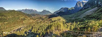 Index Mountains Panorama Poster