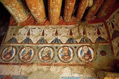 India, 10th Century Murals Poster