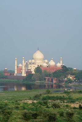 India, Agra View Of The Taj Mahal Poster by Cindy Miller Hopkins