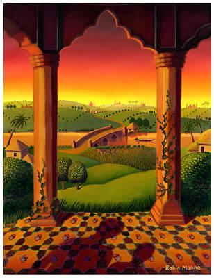 India Landscape Poster