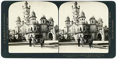 India Laxmi Vilas Palace Poster by Granger
