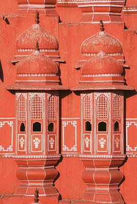 India, Rajasthan, Jaipur, Close-up View Poster by Nik Wheeler