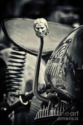 Indian 500cc Scout Gear Shift  Poster
