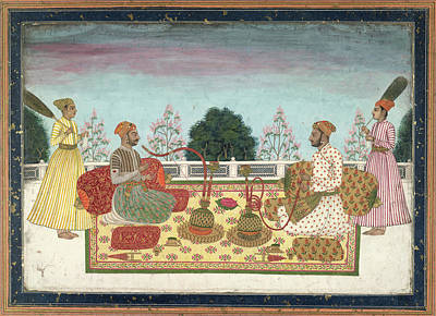 Indian Rajas Poster by British Library