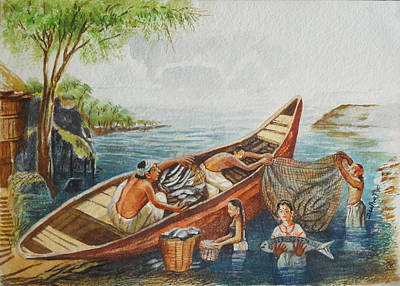 Indian Village Life - 9 Poster