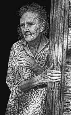 Indiana Farm Wife  1935 Poster by Daniel Hagerman