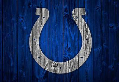 Indianapolis Colts Barn Door Poster