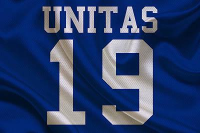 Indianapolis Colts Johnny Unitas Poster