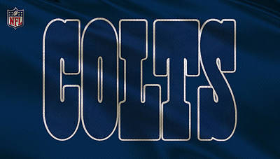 Indianapolis Colts Uniform Poster