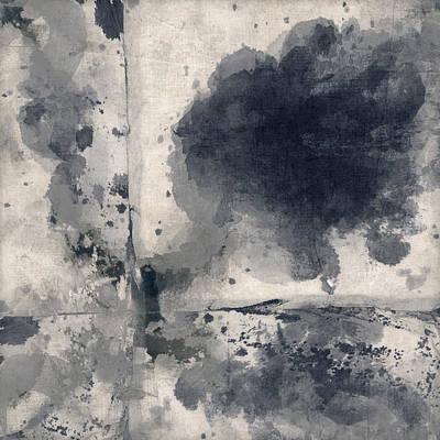 Indigo Clouds 1 Poster