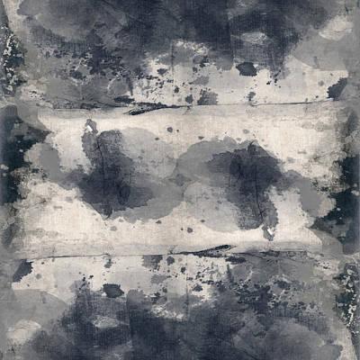Indigo Clouds 2 Poster by Carol Leigh