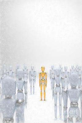 Individuality 2 Poster by Carsten Reisinger