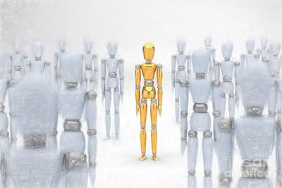 Individuality Poster by Carsten Reisinger