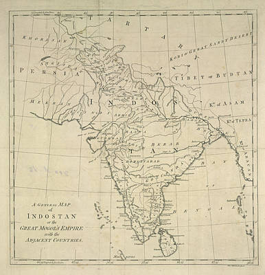 Indostan Poster by British Library