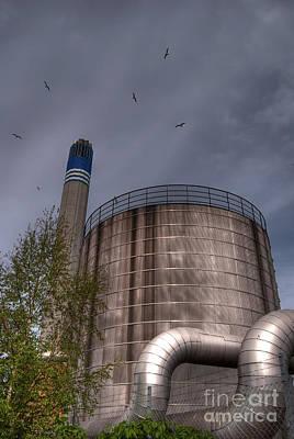 Industrial Wasteland 01 Poster by Antony McAulay