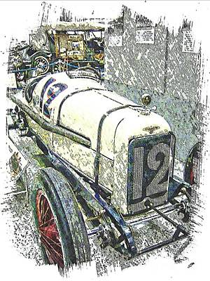 Indy Race Car 2 Poster by Spencer McKain