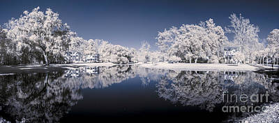 Infrared 180 Degree Panorama Poster by John Wollwerth