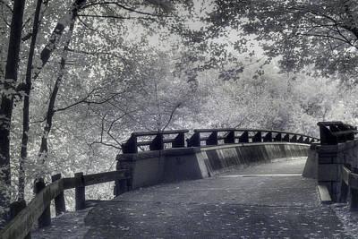 Infrared Bridge Poster by Joann Vitali