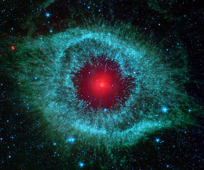 Infrared Helix Nebula Poster by Eti Reid