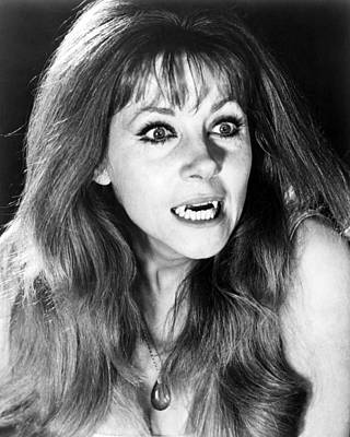 Ingrid Pitt In The Vampire Lovers  Poster by Silver Screen
