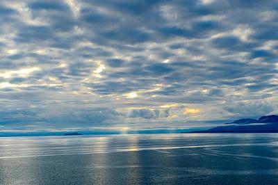 Inland Passage In Alaska Poster