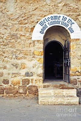 Inn Of The Good Samaritan Poster by Thomas R Fletcher
