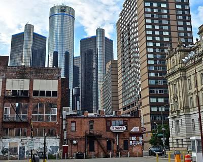 Inner City Detroit Poster